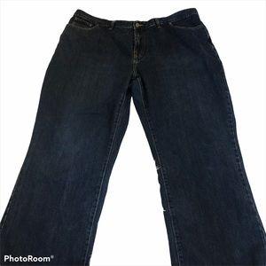 Osh Kosh men's jeans 44x32 dark wash blue denim